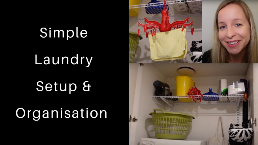 Simple laundry organisation